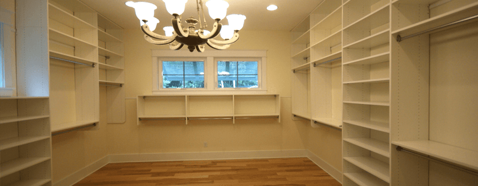 Custom Shower · Closets · Closets