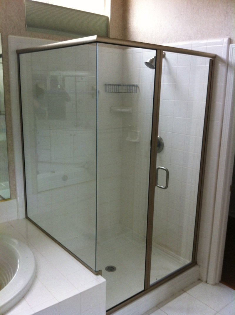 Turners Custom Showers Semi Frameless Showers Gallery Jacksonville