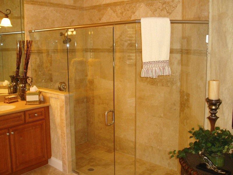 Turners Custom Showers   Showers Neo Angle Shower Doors ...