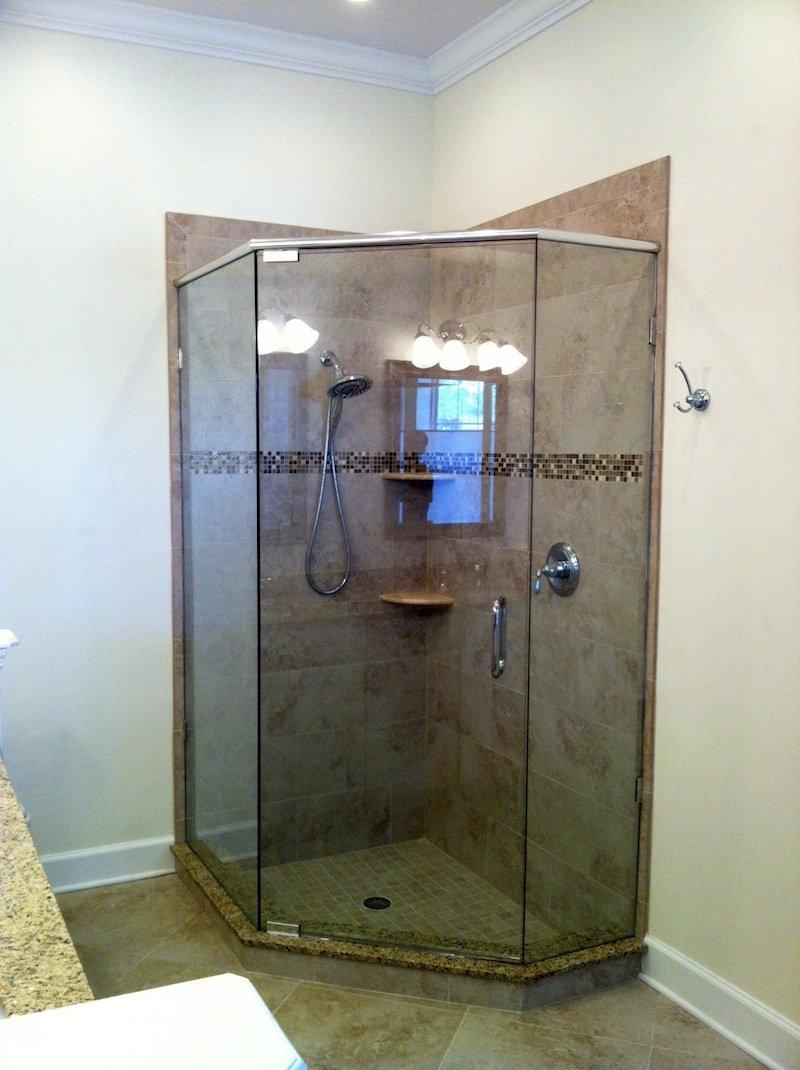 Turners Custom Showers Showers Neo Angle Shower Doors