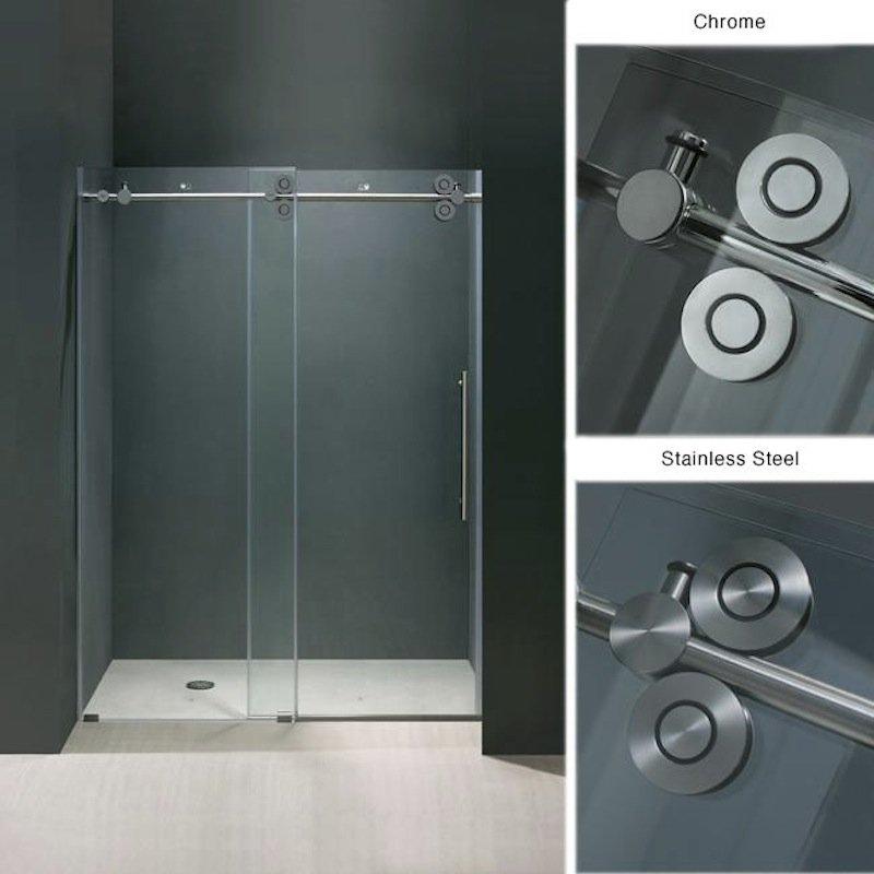 Turners Custom Showers Bi Pass Shower Doors