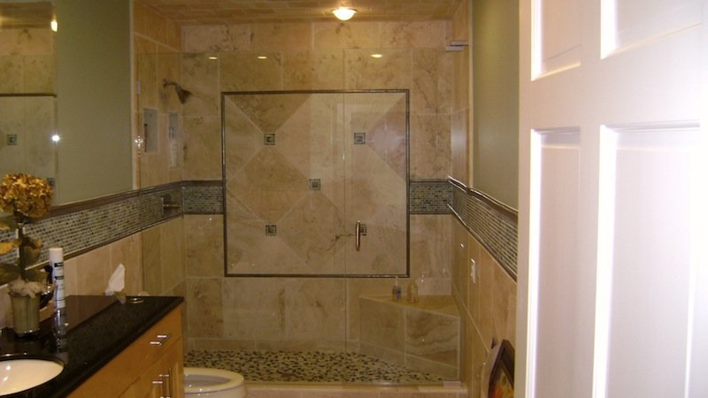 Shower door and panels