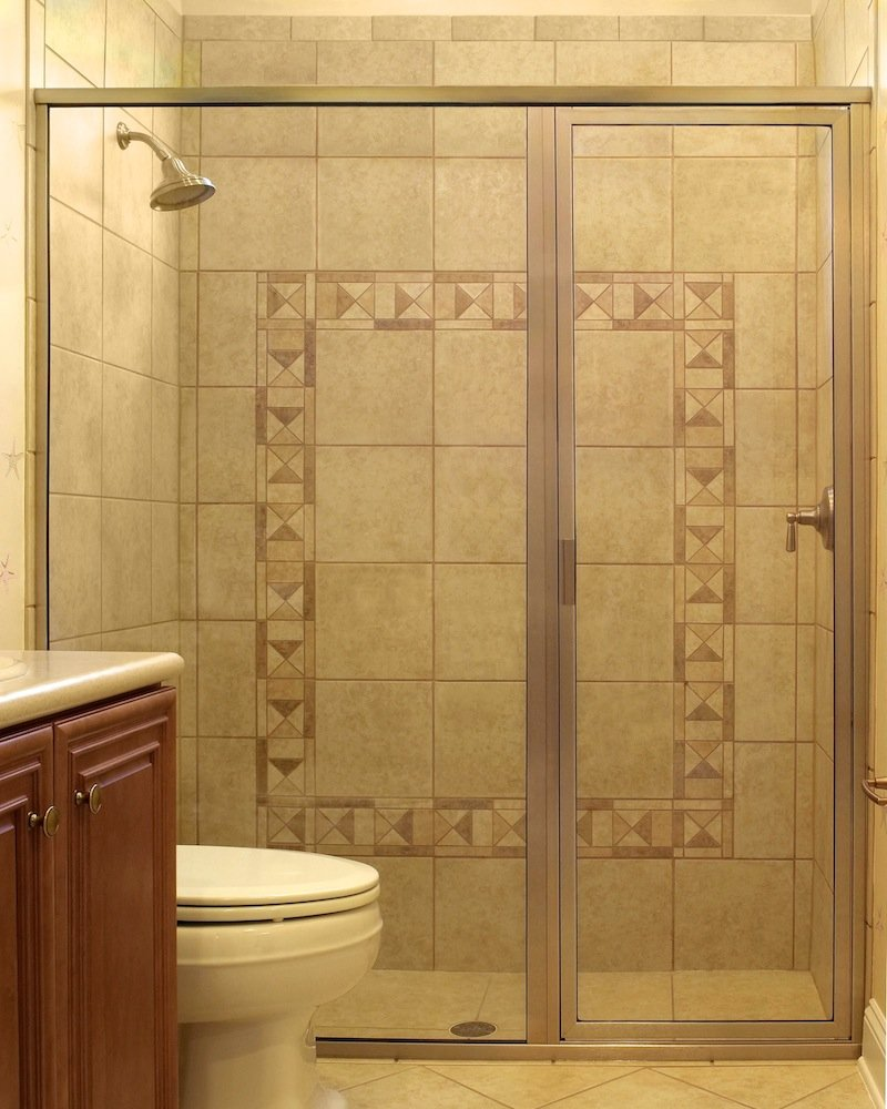 Framed shower door