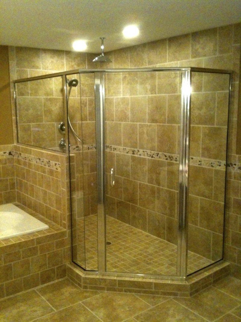 Semi-frameless showers
