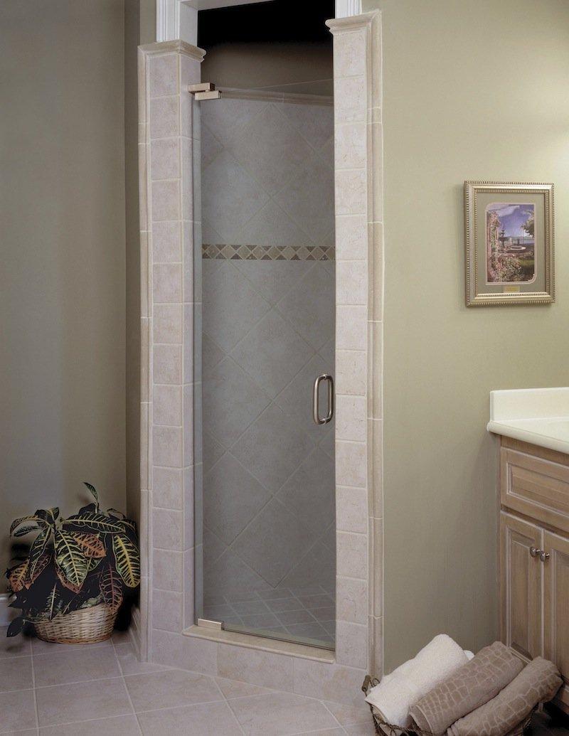 Single door showers