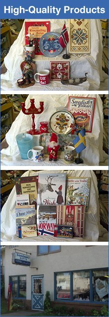 Gift Store - Saint Paul, MN - Sandeen's Scandinavian Gifts, Art & Needlecraft