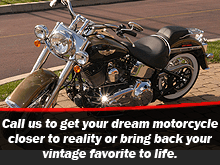 Motorcycle  - Buffalo, ND - Dewey's Custom Cycles - motorcycle - Call us to get your dream motorcycle closer to reality or bring back your vintage favorite to life.