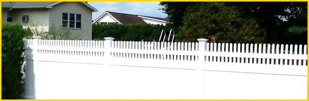 Vinyl fences | Wilkes Barre, PA | George Belanchik Fencing Contractor | 570-472-3017