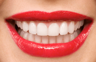 Lips smiling