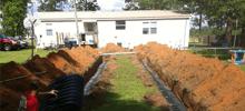 Septic tank maintenance