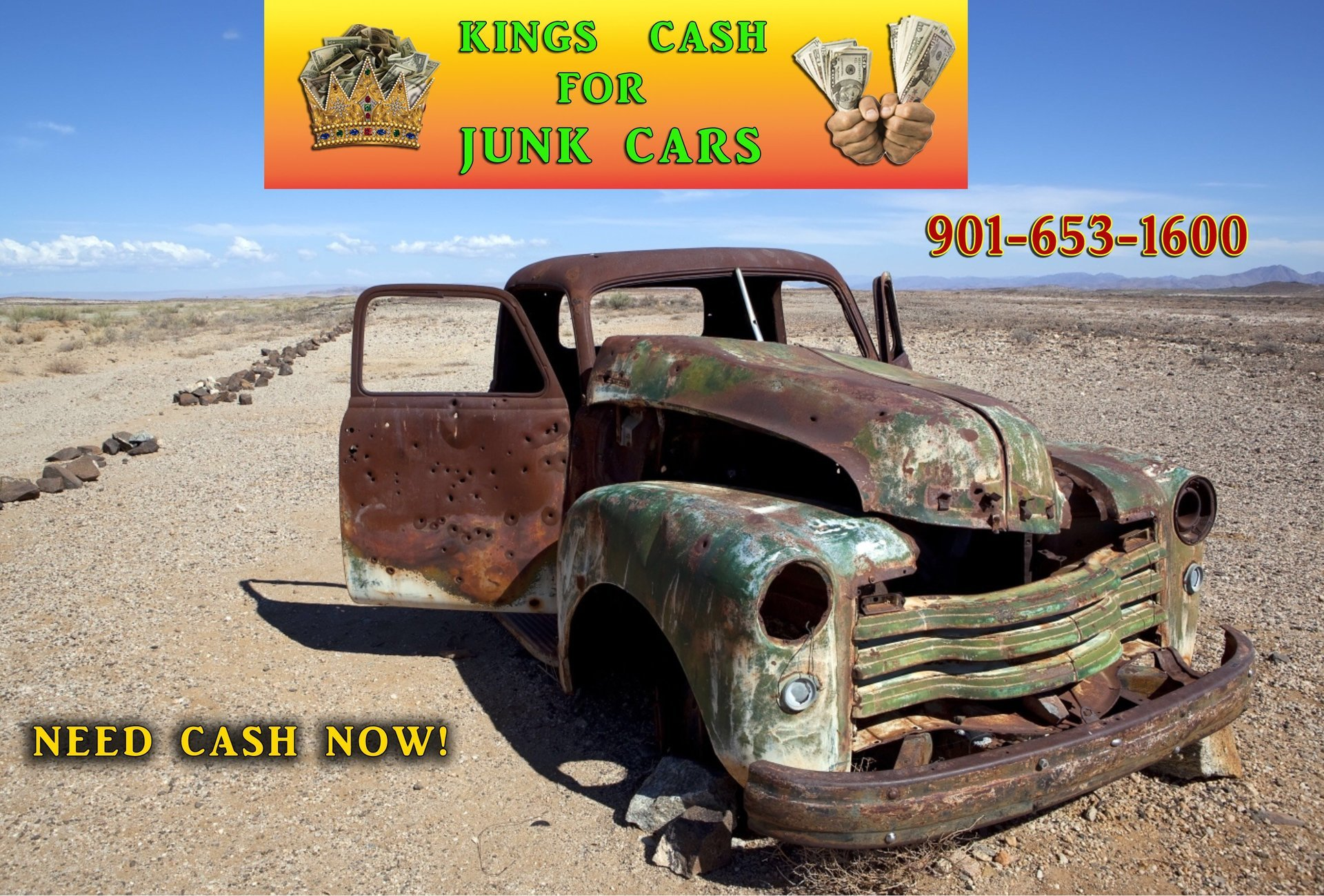 Kings Cash for Junk Cars | Junk Vehicles | Memphis, TN
