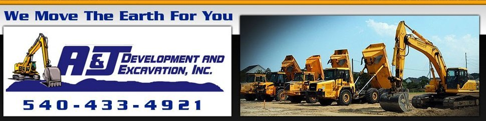 Contractors - Harrisonburg, VA - A & J Development & Excavation Inc