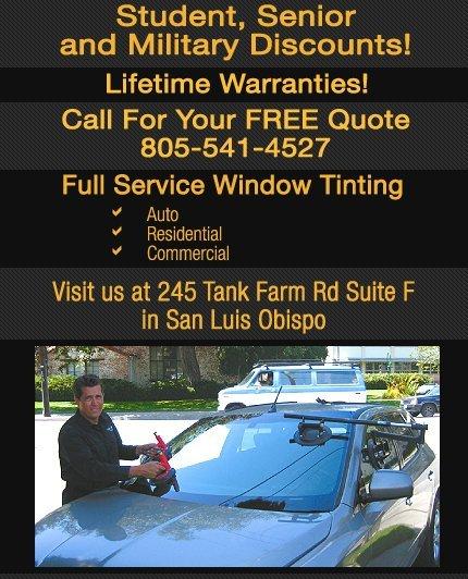 San Luis Auto Glass and Tint  - Auto Glass - San Luis Obispo, CA