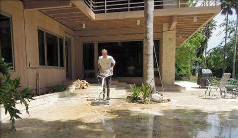 Floor Pressure Washing