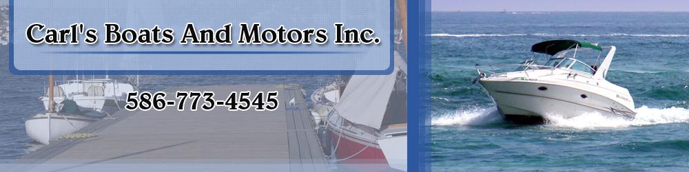 Boat Sales Saint Clair Shores, MI - Carl's Boats And Motors Inc.