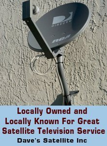 Direct TV - Bemidji, MN - Dave's Satellite Inc - Direct TV Dish