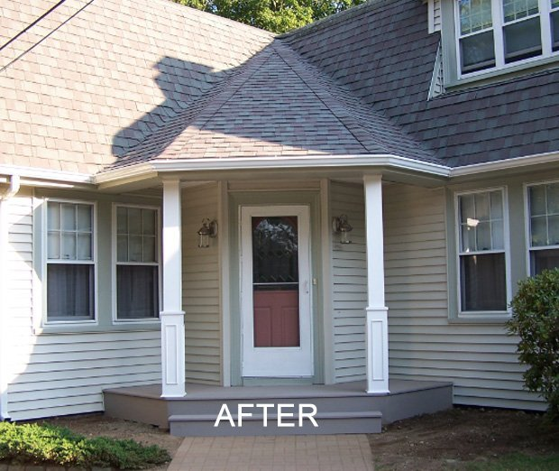 House remodeling after