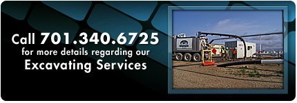 excavating services - Minot, ND - Badger Daylighting of ND Inc - Call 701.340.6726 for more details regarding our Excavating Services