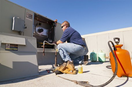 Commercial air-conditioning service
