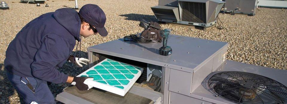 Air filtration installation