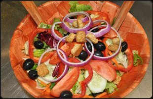 Fireside Steak Pub salad