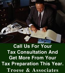 Tax Preparation - Clarion, PA - Troese & Associates