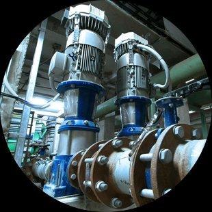 Big industrial turbines