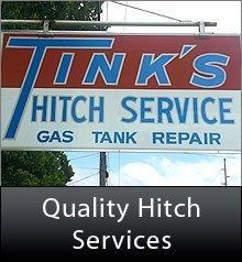 Hitch Service Shop - Des Moines, IA - Tink's Hitch Service