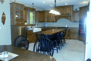 Kitchen | Brainerd, MN | MillerBuilt Custom Homes | 218-838-9761