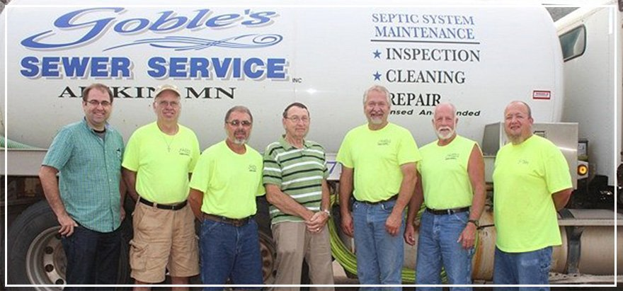 Goble's Sewer Service Crew