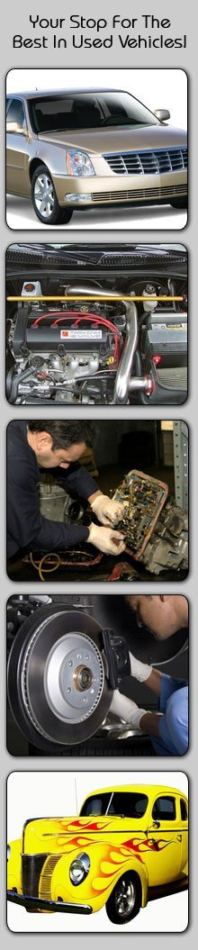 Auto Parts - Cadillac,MI - Canfield Auto Brokers and Service Center - Luxury car, engine, transmission repair, brake repair and auto detailing - Your Stop For The Best In Used Vehicles!