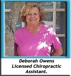 Deborah Owens_About us_Brookside Chiropractic Clinic