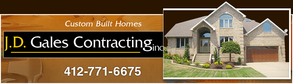 General Contractor - Pittsburgh, PA - JD Gales Contracting Inc.