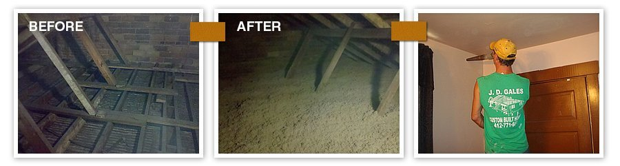 JD Gales Contracting Inc - Fiberglass Insulation - Pittsburgh, PA