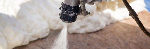 Spray foam application