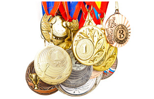 Collection of medals