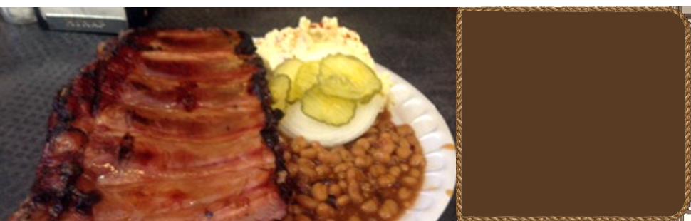 Delicious pork barbeque