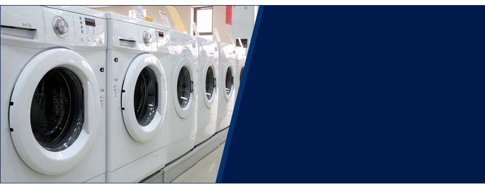Lined up washers