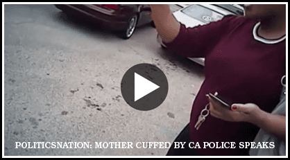 LAw Offices of Caree Harper | Pregnant Mother cuffed by CA police