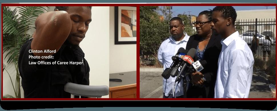 LAPD Beating Survivor Clinton Alford