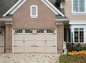 Garage residential door