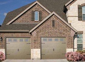 Garage commercial door
