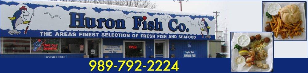 Fresh Seafood and Fish - Saginaw, MI - Huron Fish Co