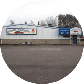 Rhinelander Collision Center Building