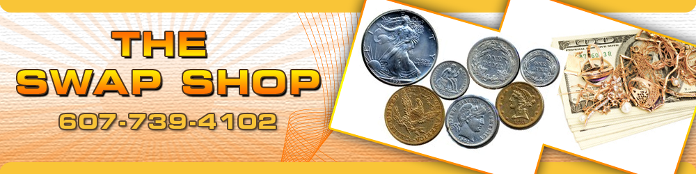 Gold Silver Coin Jewelry Buyer Horseheads, NY - The Swap Shop 607-739-4102