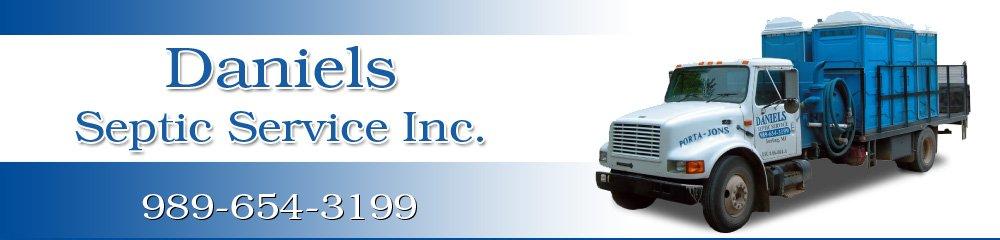 Septic System Service - Sterling, MI - Daniels Septic Service Inc.