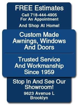 Custom Awnings  - Brooklyn, NY  - Awning City Windows & Doors Inc.