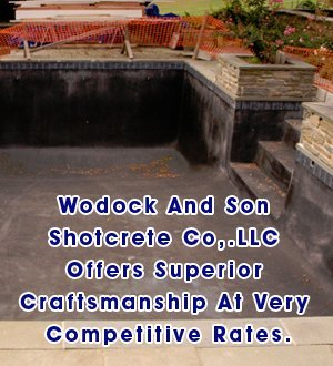 Shotcrete Contractor - Doylestown, PA - Wodock and Son Shotcrete-Building swimming pool-Wodock And Son Shotcrete Co. Offers Superior Craftsmanship At Very Competitive Rates.