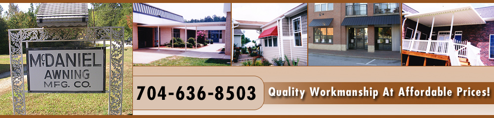 Home Improvement - Salisbury, NC - McDaniel Awning Co.
