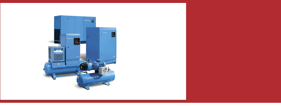 Air compressor that is bronze or black